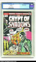 Bronze Age (1970-1979):Horror, Crypt of Shadows #16 Stan Lee File Copy (Marvel, 1975) CGC VF 8.0 Cream to off-white pages. Nice copy straight from Stan Lee...