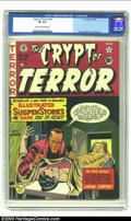 Golden Age (1938-1955):Superhero, Crypt of Terror #18 (EC, 1950) CGC VF 8.0 Cream to off-white pages. Craig, Feldstein and Wood art. Overstreet 2002 VF 8.0 va...