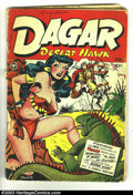 Golden Age (1938-1955):Adventure, Dagar, Desert Hawk #14 (Fox Features Syndicate, 1948) Condition:GD-. First issue of this title. Edmond Good bondage cover. ...