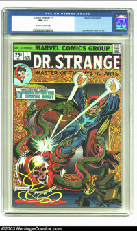 Doctor Strange #1 (Marvel, 1974) CGC NM 9.4 Off-white to white pages. Frank Brunner cover and art. Overstreet 2002 NM 9...