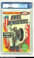 Bronze Age (1970-1979):Miscellaneous, Evel Knievel nn (Marvel, 1974) CGC NM+ 9.6 Off-white to whitepages. Ideal Toy Corporation promotional comic book. Highest-g...