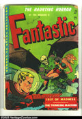 Golden Age (1938-1955):Horror, Fantastic #8 (Youthful Magazines, 1952) Condition: GD+. CaptainScience by Harrison; decapitation, shrunken head panels. Ove...