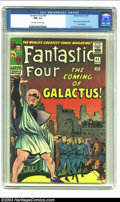 Silver Age (1956-1969):Superhero, Fantastic Four #48 (Marvel, 1966) CGC NM- 9.2 Off-white to white pages. Outside of seven very early issues in the series, th...