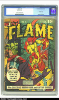 Golden Age (1938-1955):Superhero, The Flame #6 (Fox, 1941) CGC GD/VG 3.0 Cream to off-white pages. Bondage cover. George Tuska art. Overstreet 2002 GD 2.0 val...