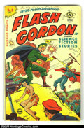 Golden Age (1938-1955):Science Fiction, Flash Gordon #2 (Harvey, 1950) Condition: VG-. Alex Raymond art.Overstreet 2002 GD 2.0 value = $23; FN 6.0 value = $69. ...