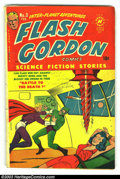 Golden Age (1938-1955):Science Fiction, Flash Gordon #3 (Harvey, 1951) Condition: VG. Alex Raymond art.Bondage cover. Overstreet 2002 GD 2.0 value = $22; FN 6.0 va...