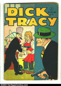 Golden Age (1938-1955):Adventure, Four Color #96 Dick Tracy (Dell, 1946) Condition: VG-. Overstreet 2002 GD 2.0 value = $25; FN 6.0 value = $75....