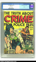 Golden Age (1938-1955):Crime, Fox Giants The Truth About Crime... (Fox Features Syndicate, 1949) CGC VG+ 4.5 Cream to off-white pages. Fox Giant. Only cop...