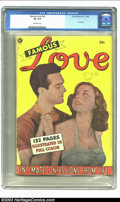 Golden Age (1938-1955):Romance, Fox Giants Famous Love (Fox Features Syndicate, 1950) CGC VG 4.0Off-white pages. Fox Giant. Only copy of the issue to be ce...