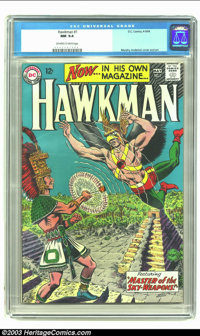 Hawkman #1 (DC, 1964) CGC NM 9.4 Off-white to white pages. Murphy Anderson cover and art. Overstreet 2002 NM 9.4 value =...