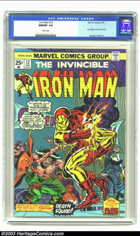 Iron Man #72 (Marvel, 1975) CGC NM/MT 9.8 White pages. George Tuska art. San Diego Comic-Con story. No copy of this issu...