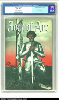 Golden Age (1938-1955):Non-Fiction, Joan of Arc #nn (Topix, 1949) CGC VF+ 8.5 Cream to off-white pages.Movie adaptation; Ingrid Bergman photo cover; Whitney ar...
