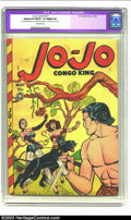 "Golden Age (1938-1955):Adventure, Jo-Jo Comics #27 (Fox Features Syndicate, 1949) CGC Apparent FN/VF7.0 Slight (A) Off-white pages. CGC notes, ""Restoration i..."