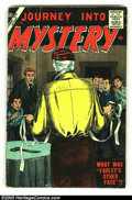 Silver Age (1956-1969):Horror, Journey into Mystery #42 (Marvel, 1957) Condition: VG. Bill Everettcover, with art by Morrow and Torres. Overstreet 2002 GD...