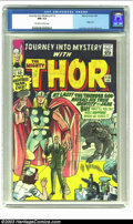 Silver Age (1956-1969):Superhero, Journey into Mystery #113 (Marvel, 1965) CGC NM 9.4 Off-white to white pages. Origin Loki; Jack Kirby and Chic Stone art. Ov...
