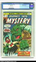 Bronze Age (1970-1979):Horror, Journey into Mystery Stan Lee File Copy (2nd Series) #18 (Marvel,1975) CGC VG 4.0 Cream to off-white pages. Take Stan Lee's...