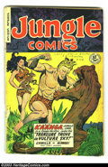 Golden Age (1938-1955):Adventure, Jungle Comics Group (Fiction House 1949). Two issues, #115 and #119, both in GD/VG, make up this group. Matt Baker and Mauri... (Total: 2 Item)
