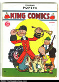 Golden Age (1938-1955):Cartoon Character, King Comics #32 (David McKay Publications, 1938) Condition: VG.That this was published around the dawn of the Golden Age ma...
