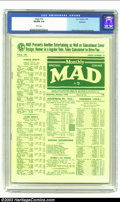 Golden Age (1938-1955):Humor, Mad #19 Spokane pedigree (EC, 1955) CGC VG/FN 5.0 White pages. Wally Wood and Jack Davis art. Overstreet 2002 GD 2.0 value =...