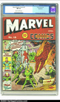 Golden Age (1938-1955):Superhero, Marvel Mystery Comics #18 Recil Macon pedigree (Timely, 1941) CGC NM 9.4 Cream to off-white pages. Schomburg's covers just k...