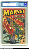 Golden Age (1938-1955):Superhero, Marvel Mystery Comics #78 (Timely, 1946) CGC VF 8.0 Off-white pages. Sub-Mariner, Angel and Young Allies stories; Syd Shores...
