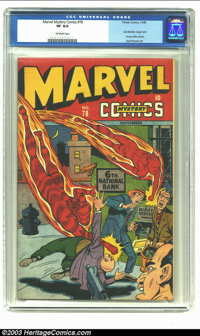 Marvel Mystery Comics #78 (Timely, 1946) CGC VF 8.0 Off-white pages. Sub-Mariner, Angel and Young Allies stories; Syd Sh...