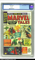 Silver Age (1956-1969):Superhero, Marvel Tales #2 (Marvel, 1965) CGC VF+ 8.5 Off-white pages. Overstreet 2002 VF 8.0 value = $70; NM 9.4 value = $120. ...