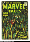 Golden Age (1938-1955):Horror, Marvel Tales #151 (Marvel, 1956) Condition: GD/VG. Everett coverand art, and Joe Orlando art. 2-inch chunk out of page 1. O...