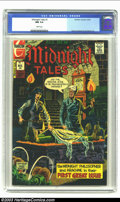 Bronze Age (1970-1979):Horror, Midnight Tales #1 (Charlton, 1972) CGC NM 9.4 White pages. WayneHoward and Joe Staton art. Only copy of this issue to be gr...