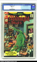 Bronze Age (1970-1979):Horror, Midnight Tales #2 (Charlton, 1973) CGC NM 9.4 White pages. WayneHoward and Joe Staton art. No other copy of this issue has ...