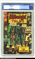 Bronze Age (1970-1979):Horror, Midnight Tales #5 (Charlton, 1973) CGC NM+ 9.6 White pages. WayneHoward and Joe Staton art. No other copy of this issue has...