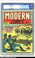 Golden Age (1938-1955):Superhero, Modern Comics #85 (Quality, 1949) CGC NM+ 9.6 Off-white pages. Reed Crandall cover and art. Gustavson and Ward interior art....