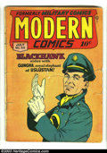 Golden Age (1938-1955):Adventure, Modern Comics Group (Quality, 1947). Issues #63 and #65, both in GD-, make up this group. Both issues feature Blackhawk and ... (Total: 2 Item)