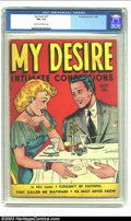 Golden Age (1938-1955):Romance, My Desire #31 (Fox Features Syndicate, 1949) CGC FN+ 6.5 Cream tooff-white pages. One of just two copies of this issue to b...