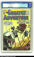 Silver Age (1956-1969):Science Fiction, My Greatest Adventure #26 (DC, 1958) CGC VF+ 8.5 Off-white to white pages. Meskin, Baily and Cardy art. Overstreet 2002 VF 8...