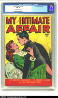 Golden Age (1938-1955):Romance, My Intimate Affair #2 (Fox, 1950) CGC VG- 3.5 Off-white to whitepages. Great Fox romance title. Very scarce. Overstreet 200...