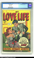 Golden Age (1938-1955):Romance, My Love Life #6 (Fox, 1949) CGC VG+ 4.5 Cream to off-white pages.Kamenish art in this issue. CGC has not graded another cop...