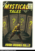Silver Age (1956-1969):Horror, Mystical Tales #3 (Atlas, 1956) Condition: VG. Reed Crandallartwork. Overstreet 2002 GD 2.0 value =$27; FN 6.0 value = $81....