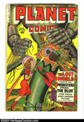 Golden Age (1938-1955):Science Fiction, Planet Comics #64 (Fiction House, 1950) Condition: VG. Overstreet2002 GD 2.0 value =$47; FN 6.0 value = $140....