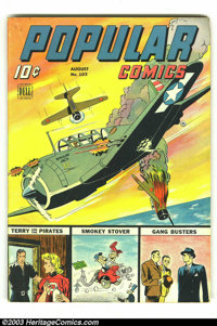 Popular Comics #102 (Dell, 1944) Condition: FN. Overstreet 2002 FN 6.0 value = $33