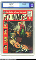 Golden Age (1938-1955):Horror, Psychoanalysis #3 Gaines File Copy (EC, 1955) CGC VF/NM 9.0Off-white pages. Complete with certificate of authenticity. Kame...