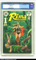 Bronze Age (1970-1979):Miscellaneous, Rima the Jungle Girl #1 (DC, 1974) CGC NM- 9.2 Off-white to whitepages. Joe Kubert cover. Nino and Redondo art. Origin of R...