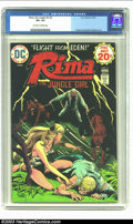 Bronze Age (1970-1979):Miscellaneous, Rima the Jungle Girl #2 (DC, 1974) CGC VF+ 8.5 Off-white to whitepages. Origin of Rima, Part 2. Joe Kubert cover. Nino and ...