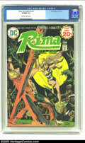 Bronze Age (1970-1979):Miscellaneous, Rima the Jungle Girl #4 (DC, 1974) CGC VF/NM 9.0 Off-white to whitepages. Origin of Rima, Part 4. Joe Kubert cover, with Ni...