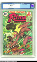 Bronze Age (1970-1979):Miscellaneous, Rima the Jungle Girl #5 (DC, 1974) CGC NM- 9.2 Off-white to whitepages. Joe Kubert cover, with Redondo and Nino art. Overst...