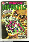 Silver Age (1956-1969):Adventure, Sea Devils #2 (DC, 1961) Condition: GD/VG. Russ Heath grey tone cover and art. Overstreet 2002 GD 2.0 value = $28; FN 6.0 va...