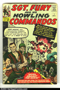 Silver Age (1956-1969):War, Sgt. Fury and His Howling Commandos #1 (Marvel, 1963) Condition: Apparent VG. Color touches. Overstreet 2002 GD 2.0 value =$...