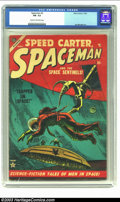 Golden Age (1938-1955):Science Fiction, Space Man #2 (Atlas, 1953) CGC FN- 5.5 Cream to off-white pages.Joe Maneely art. Overstreet 2002 FN 6.0 value = $129. ...