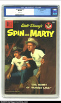 Silver Age (1956-1969):Adventure, Spin and Marty #6 File copy (Dell, 1958) CGC NM 9.4 Off-white pages. Walt Disney's Spin and Marty photo cover. Overstreet 20...