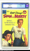 Silver Age (1956-1969):Adventure, Spin and Marty #8 File copy (Dell, 1959) CGC NM- 9.2 Off-white to white pages. Walt Disney's Spin and Marty photo cover; TV....